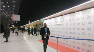 12月2日 COP24会場内の様子